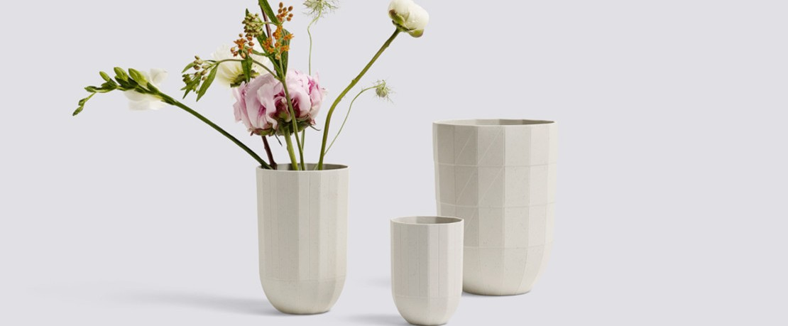 HAY Paper Porzellan Vase