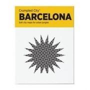 MeterMorphosen - Crumpled City Stadtplan - Barcelona