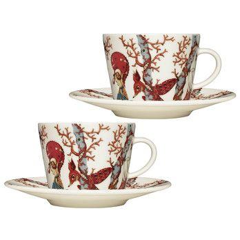 - Tanssi Kaffeetassen Set 2tlg. -