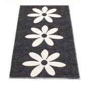 pappelina - Lilo Teppich 70x150cm - schwarz/vanille/Einzelstück - nur einmal verfügbar!