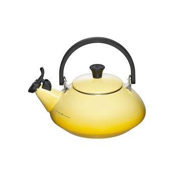 Le Creuset - Le Creuset Zen Wasserkessel  - zitronengelb/für alle Herdarten geeignet/1.5l