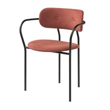 Gubi - Coco Dining Chair - Chaise avec accoudoirs