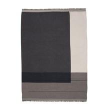 ferm LIVING - Colour Block Throw Plaid/Tagesdecke