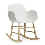 Normann Copenhagen - Form Rocking Armhair Oak - Fauteuil à bascule