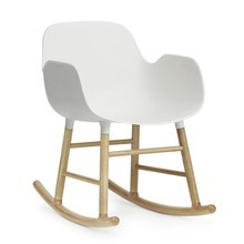 Normann Copenhagen - Form Rocking Armchair Oak - Schommelstoel