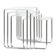 Thonet - B 9 Side Table Glass Set of 4
