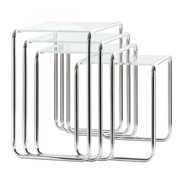 Thonet - Thonet B9 Beistelltisch Glas