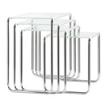 Thonet - Thonet B9 - Bijzettafel glas