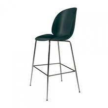 Gubi - Beetle Bar Chair Barhocker Chrom 118cm