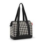 Reisenthel - Reisenthel Allrounder Plus Tasche - fifties black/Polyester/mit Stecklasche zur Befestigung an Trolleys
