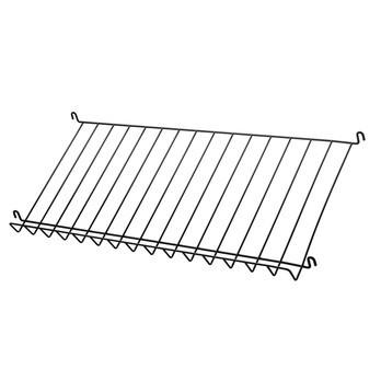String - String System Magazin Ablage Metall 78x30cm - schwarz/BxHxT 78x15x30cm