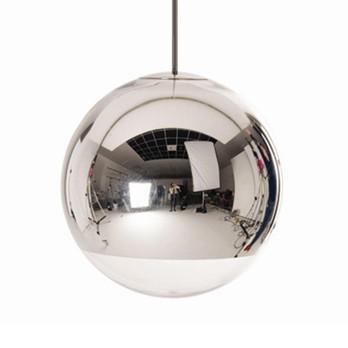 Tom Dixon - Mirror Ball Pendant Pendelleuchte Chrom - chrom/glänzend/Ø 50 cmØ 50 cm/Fassung E27
