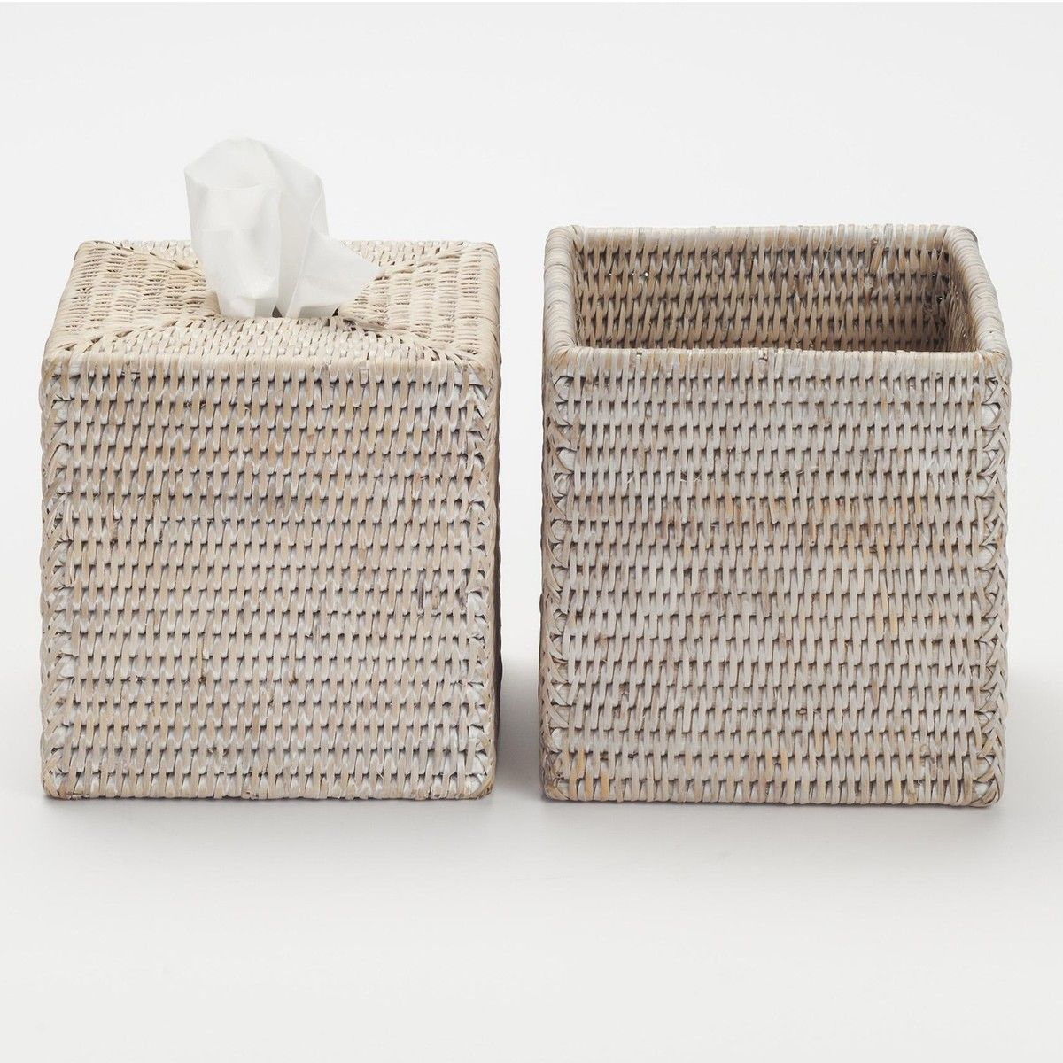 Basket KBQ Rattan Tissue Box