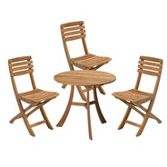 Skagerak - Skagerak Vendia Garden Set Table With 3 Chairs