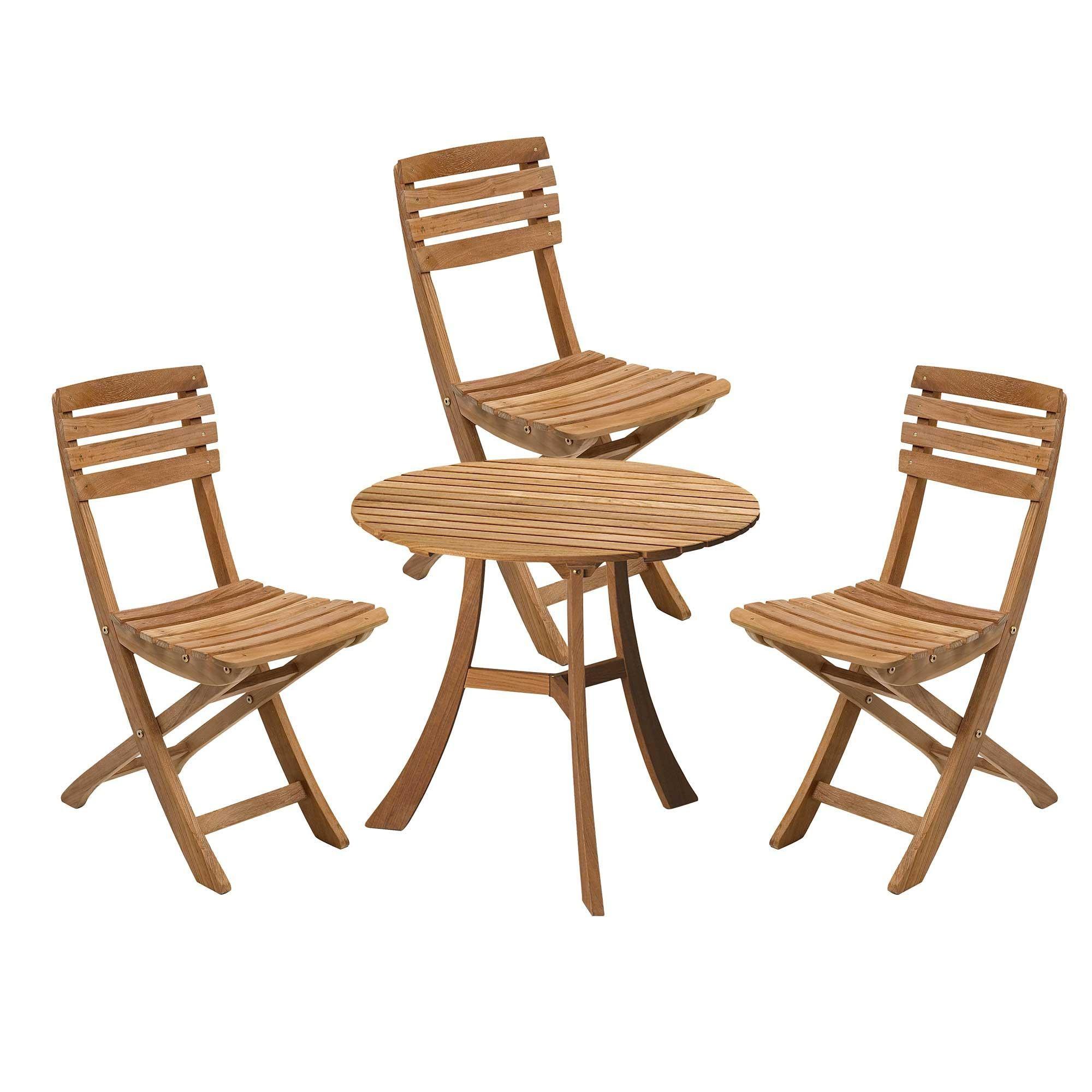 Set 3 De Table Jardin Avec Vendia Chaises vm0wyN8nO