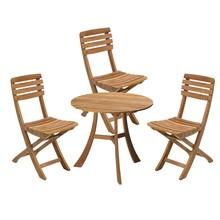 Skagerak - Vendia Gartenset Tisch mit 3 Stühlen