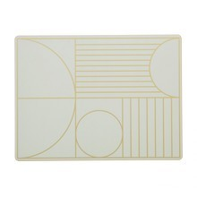 ferm LIVING - Outline Dinner Mat - Kit de 2 dessous plat