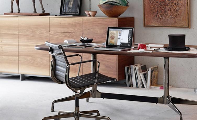 Büro mit Vita Aluminium Chair