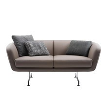 Kartell - Betty 2-Seater Sofa Leather