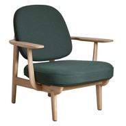 Fritz Hansen - Fred™ fauteuil onderstel eik