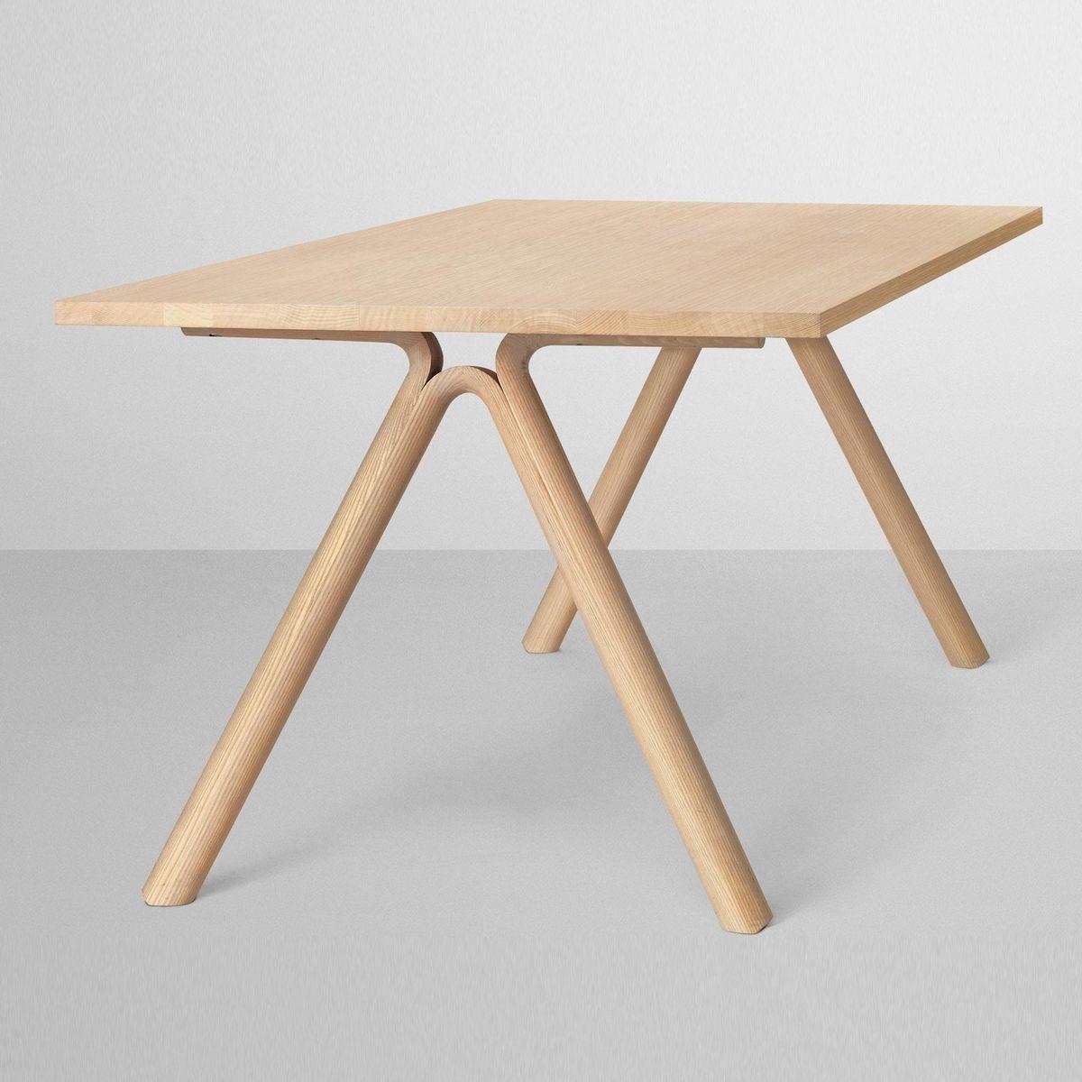 split holztisch esstisch 220x90cm muuto. Black Bedroom Furniture Sets. Home Design Ideas