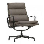 Vitra - EA 216 Soft Pad Aluminium - Chaise pivotante