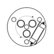 Luceplan - Metropoli D20/27.5 Reflektor