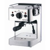 Dualit - Dualit Espresso Maker - chrome/black/metal