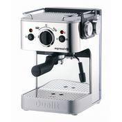 Dualit - Dualit Espressomaschine - chrom/schwarz/Metall