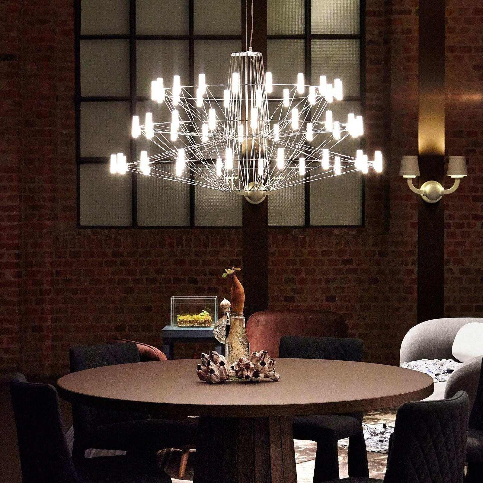 6 Interior Lighting Designs Use To Create An Ambience: Moooi Coppélia LED Suspended Lamp
