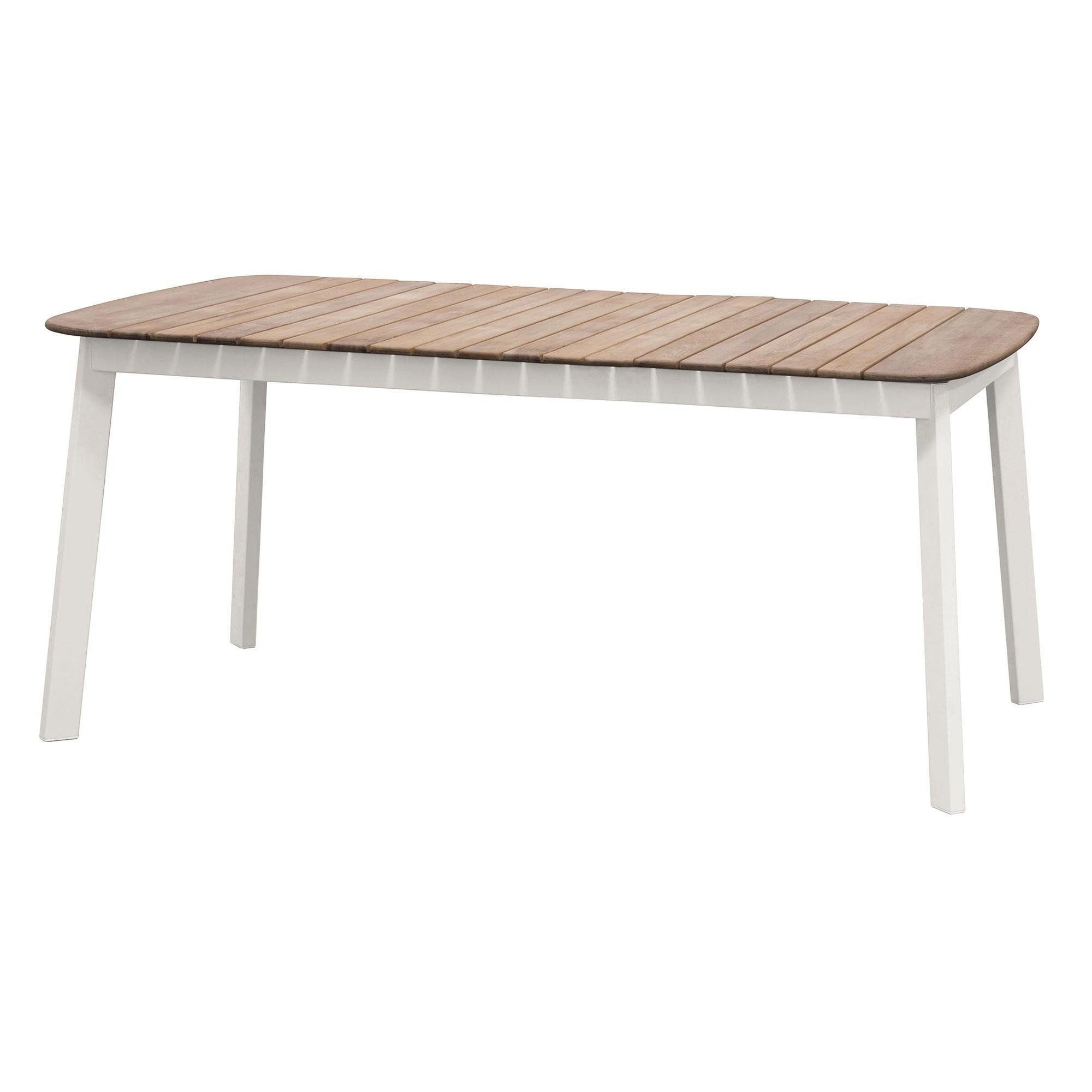 Emu Shine Garden Table AmbienteDirect - Teak and aluminium outdoor table