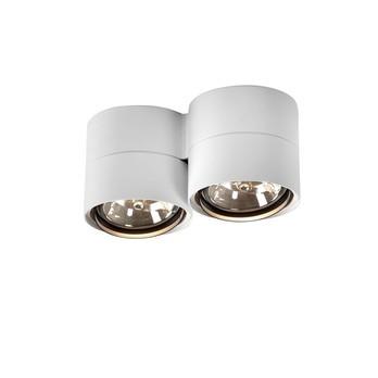 Deltalight - Link 211 Deckenstrahler - weiß/matt/Ø14cm/ohne Leuchtmittel
