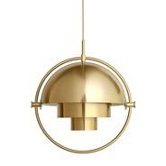 Gubi - Multi-Lite Suspension Lamp Ø25.5cm Frame Brass