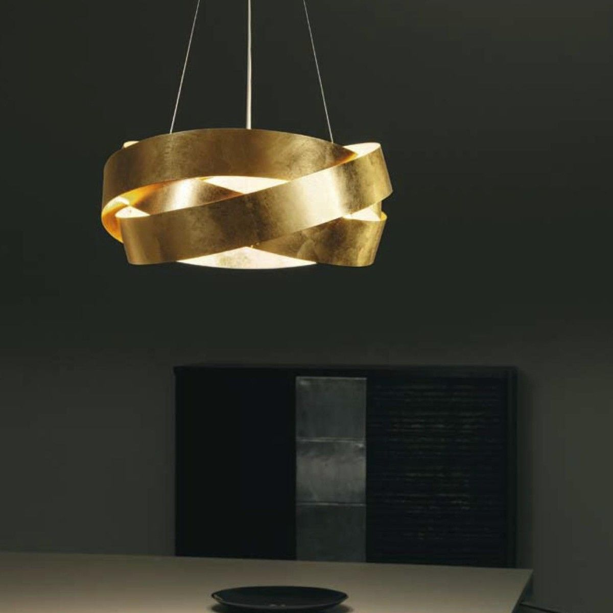 Pura suspension lamp marchetti for Suspension a 3 lampes