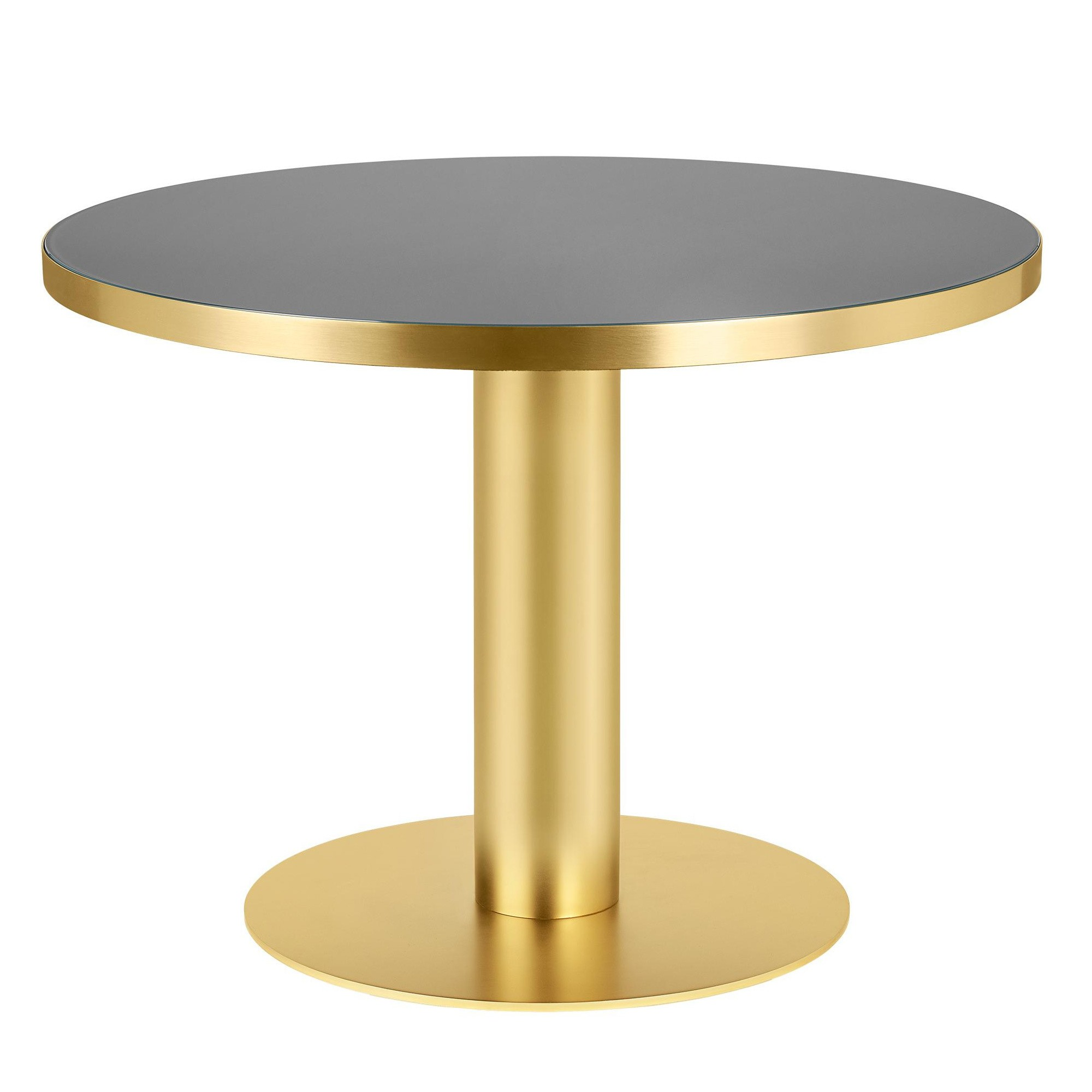 Gubi 2 0 Dining Table Frame Brass O110cm Ambientedirect