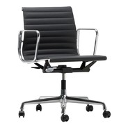 Vitra - EA 117 Alu Chair Polished Base Leather