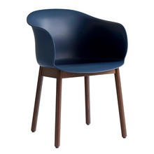 &tradition - Chaise avec accoudoirs Elefy JH30 structure noyer