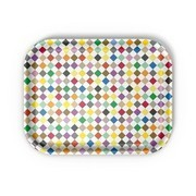 Vitra - Classic Tray Diamonds Multicolour Tablett