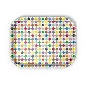 Vitra - Classic Tray Diamonds Multicolour Tablett - mehrfarbig/LxBxH 36x28x2cm