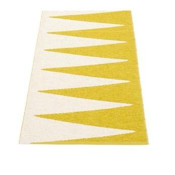 pappelina - Vivi Teppich 70x150cm - senf/vanille