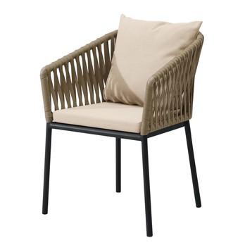 Beau Kettal   Bitta Garden Chair / Armchair   Dry Sand/brown/fabric ...