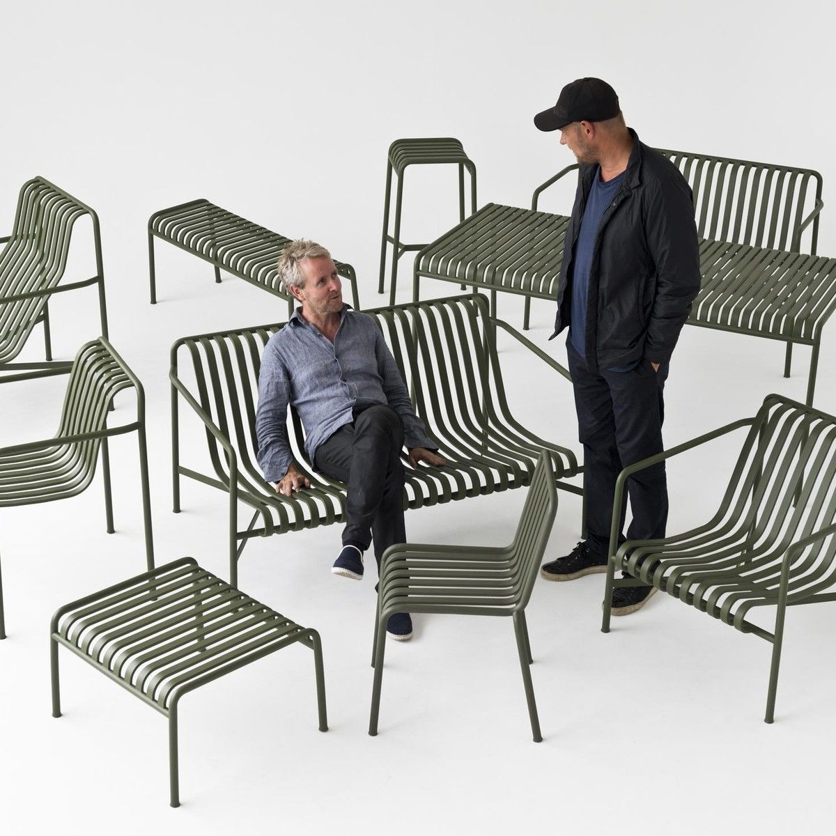 Palissade Lounge Chair High Hay Ambientedirect Com