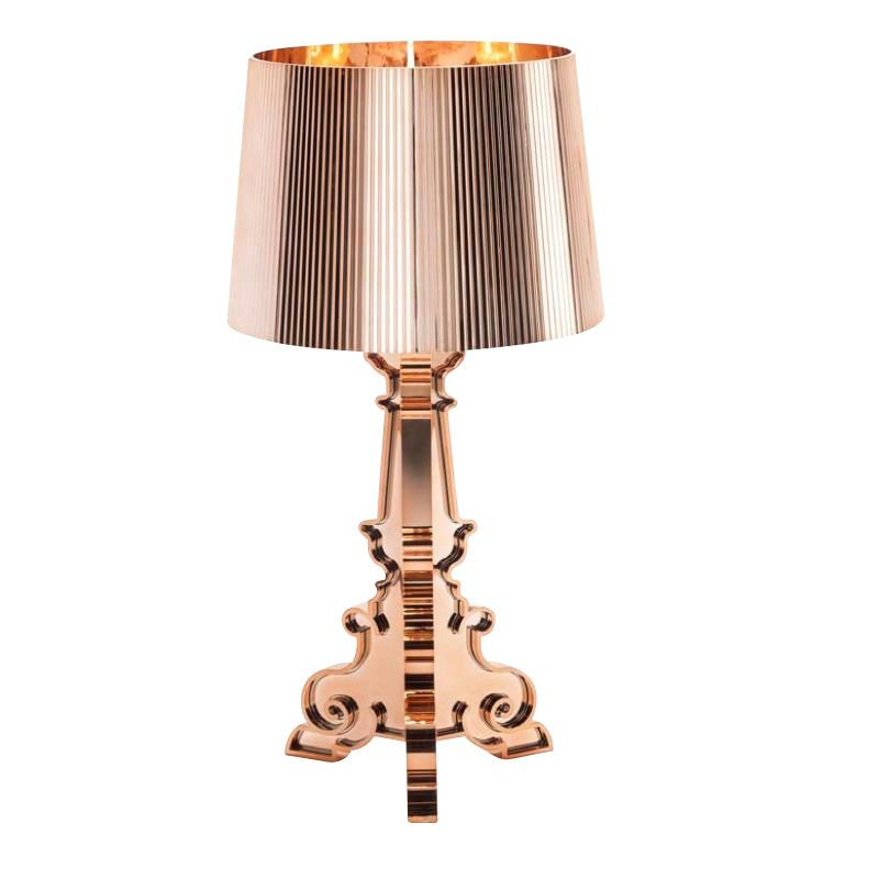 Kartell   Bourgie Copper Table Lamp   Copper/glossy/with Dimmer