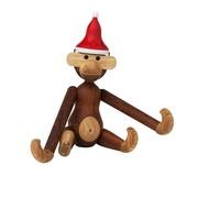 Kay Bojesen Denmark - Weihnachtsgeschenkset Affe klein mit Mütze
