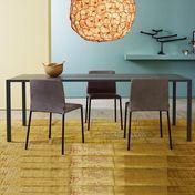 More - Slic Tisch - eiche anthrazit/matt lackiert/200x100cm
