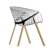 Alias - 041 Kobi Chair Armchair frame oak
