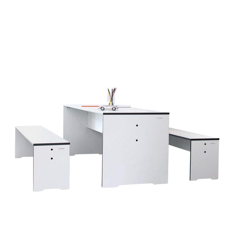 Riva Kindertisch + Bank Set