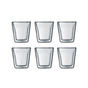 Bodum - Canteen Glas 0,1l 6er Set
