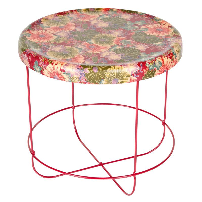 Moroso   Ukiyo Table Round   Red