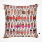 Vitra - Maharam Kissen 40x40cm - Vases Berry/pink/grau/beige
